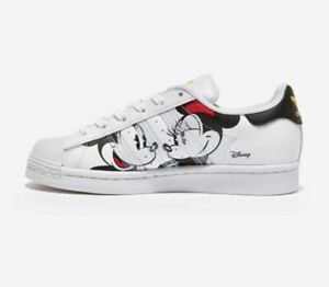 Adidas Originals Superstar x Disney Mickey Mouse Shoes,Fashion Sneakers GW2249