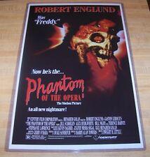 The Phantom of the Opera 11X17 Original Movie Poster Robert Englund