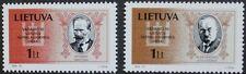 Giornata NAZIONALE FRANCOBOLLI, 1994, Lituania, SG RIF: 553 & 554, 2 Set di francobolli, Gomma integra, non linguellato