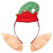 Christmas Novelty Head Bopper Headband Bell Elf Hat & Ears X 60