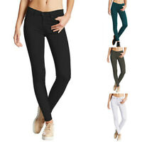 Stretch Skinny Long Jeans Ladies Pants Casual Jeggings Womens Trousers Straight