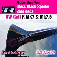 VW Golf R MK7 / MK7.5 rear Spoiler vinyl -decal - sticker - overlay