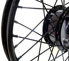 Styling Felge Speichenrad 1,60 x 16 schwarz glänzend pulverbe. f. Simson