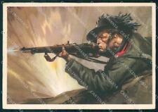 Militari Bersaglieri Pisani Boeri PIEGHINE FG cartolina XF7311