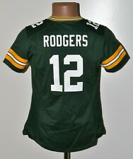 NHL GREEN BAY ICE HOKKEY JERSEY #12 RODGER NIKE SIZE M WOMEN