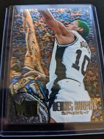 1995-96 Fleer Metal Dennis Rodman Basketball Card #100 Spurs Bulls Last Dance