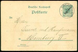 GERMAN CAROLINE ISLAND : Nice 1901 Picture Post Card to Germany