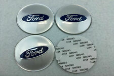 4Pcs 65mm Car Wheel Center Hub Caps Emblems Stickers Logo Accessories For Ford