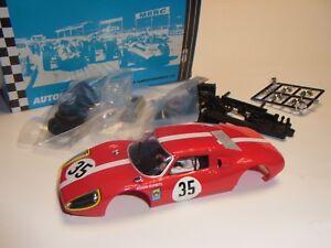 MRRC Porsche 904 GTS # 35 Body Kit und Chassis  Autorennbahn 1:32 Slotcar