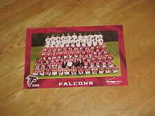 2009 Atlanta Falcons Team Photo Football Poster