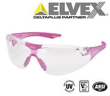 Elvex Avion SF™ Slim Fit™ Girls/Women ANSI/Ballistic Safety Glasses Pink