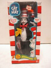 2003 Play Along Dr. Seuss Talking Cat in the Hat