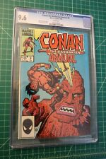 CONAN THE BARBARIAN KING-SIZE ANNUAL #9 (1984) CGC GRADED AT 9.6 WHITE PAGES