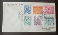 Philippines stamp Japan Occupation First Day cover