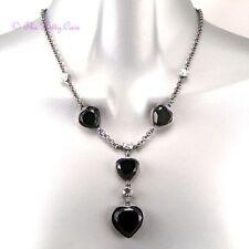 Modeschmuck-Halsketten & -Anhänger aus Glas mit Hämatit