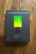 The Terminator Collection Limited Edition 3 VHS Box Set Book Hologram Cover RARE