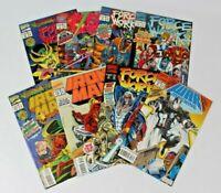 Set of 8 Marvel War Machine/Force Works/Iron Man 1994 Hands Of The Mandarin L32