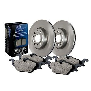 StopTech For 93 - 01 Honda/Acura Front Disc Brake Pad and Rotor Kit - 908.40010