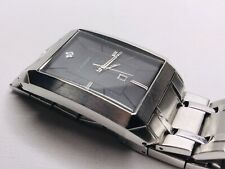 Fossil FS4411 Wrist Watch for Men - Dark Gray Textured Dial - New Battery
