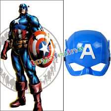 Superhero Kids Children Captain America Avenger Costume Mask Halloween Party Toy