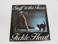 "SNIFF 'N' THE TEARS ""FICKLE HEART"" SD 19242 12"" VINYL"