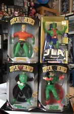 GREEN LANTERN AQUAMAN  ARROW Martian Manhunter Super Heroes KENNER Figures DC JL