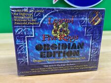 Legend Of The Five Rings Obsidian Edition Dragon Clan Stronghold Starter Sealed