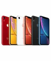 Apple iPhone XR 64GB Factory Unlocked Smartphone - Black Red Coral White