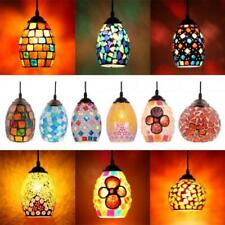 Multicolour Turkish Moroccan Mosaic Hanging Light Lamp Lampshade Hand Made Craft
