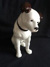 More details for hmv nipper figurine - his masters voice nipper - hmv porcelain dog.