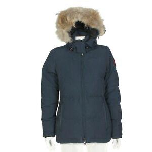 Canada Goose Chelsea Parka Black Label 625 Down Fur Trim Women's Jacket size S