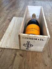 3L Veuve Clicquot um 1990 Jeroboam Doppel MAGNUM kein Rose Champagne Flasche OHK