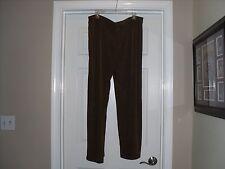 Chico's Traveler's Essential Slim Pants Size 3=16/18 X-Large NWT Heather Jasper