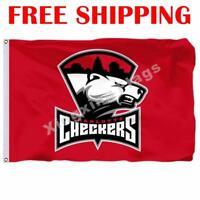 Charlotte Checkers Logo Flag AHL American Hockey League 2018 Banner 3X5 ft