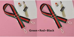 "Mixed Color Adjustable Shoulder Crossbody Strap Handbags Bags Replacement 1.5"""