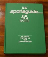 1980 SPORTSGUIDE FOR TEAM SPORTS THE MASTER REFERENCE FOR TEAM SPORTS MARKETING