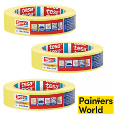 3 x 25mm tesa Yellow Masking Tape