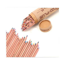 MARCO 48 Pcs Children Drawing Pencil Non-toxic Oil Base with Pencil Sharpener