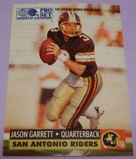 Jason Garrett 1991 Pro Set Rookie Football Card Dallas Cowboys Head Coach  #31