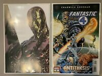 Fantastic Four Antithesis 2 - Cover A & Silver Surfer - First App Antithesis