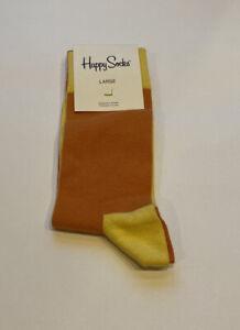 Happy Socks Large Orange Yellow Large 43-46 8.5 - 11.5