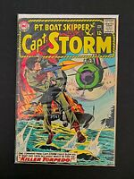 CAPT. STORM P.T. BOAT SKIPPER #5 DC COMICS FN-