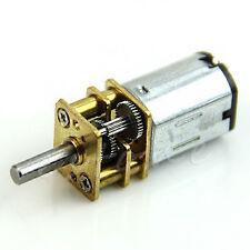 6V N20 100RPM Micro Torque Gear Box Slowdown Motor Gear 12mm