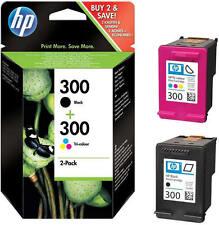 2x HP 300 ORIGINAL TINTE PATRONEN DESKJET D1660 D2560 D2660 D5560 F2420 F2480