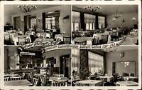 Willingen Waldeck Hessen AK ~1950/60 Hotel Willinger Hof mit 4 alten Innen-Fotos