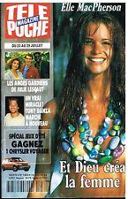 D- Télé Poche N°1484 elle MacPherson,Tony Danza,Julie Lescaut