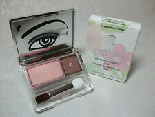 Clinique Strawberry Fudge All About Shadow Duo Full Size in Retail Box