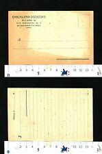PUBBLICITARIA - CHINCAGLIERIA DISCACCIATI - MILANO -    28603