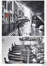 articolo 1936 RITORNANO LE GONDOLE VENEZIA AUTARCHIA LIMITAZIONE MOTOSCAFI GALLO
