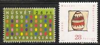 HUNGARY - 2000. Easter / Decorated Eggs MNH!! Mi 4586-4587.